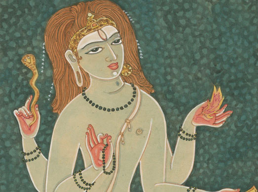 Paintings and Drawings of Shiva